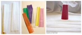 Nets Embroidery Thread Nets  Clear or Assorted Colors BUY USED & SAVE MONEY - $3.16+