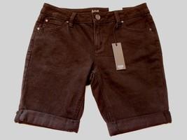 Women's Juniors a.n.a.  Denim Roll Cuff Shorts Black Size 27/4 Petite NEW  - $24.74