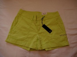 Women's Misses a.n.a. Mid Rise Poplin Shorts Sharp Green Size 33/16 NEW  - $19.79