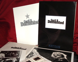 John Waters' 'Cecil B. Demented' Press Kit - 4 Photos/10 Slides - Mint! - $39.95