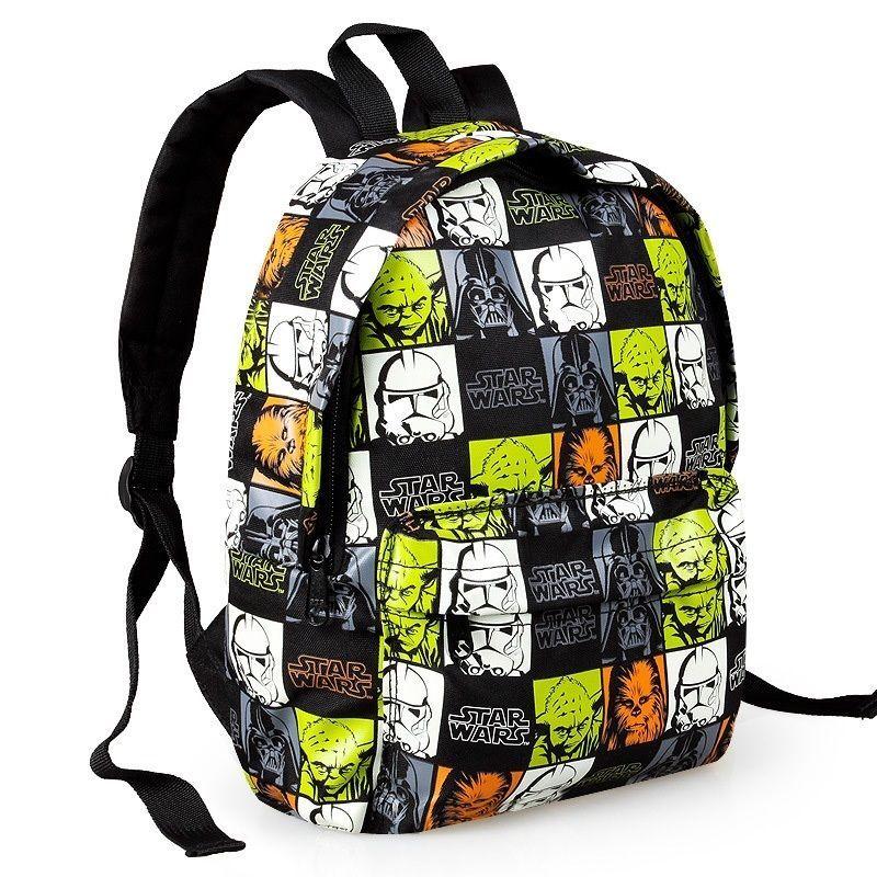 New Arrival Star Wars Cartoon Printing Backpack School Bags Schoolbag Travel Bag