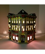 Coca Cola Town Square Collection Plaza Drugs Porcelain Lighted Building ... - $44.99