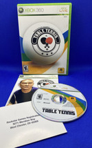 Rockstar Games Presents Table Tennis (Microsoft Xbox 360, 2006) CIB Complete! - $4.30