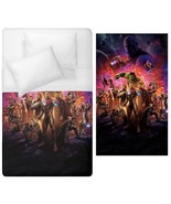 Hulk iron man thanos Duvet Cover Single double Bed Size queen king calif... - $70.00+
