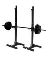 Sportmad Dumbbell Rack Adjustable Steel Barbell Portable Rack for Gym Fi... - $74.99