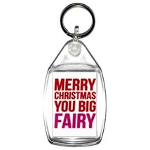 keyring double sided merry xmas you big fairy keychain