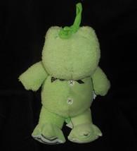 Carter's Pull Crib Toy Musical Rock A Bye Baby Green Frog Stuffed Animal Plush - $31.09