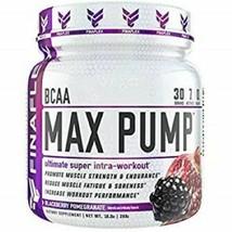 FinaFlex BCAA Max Pump 30 srv Blackberry Pomegrante Ultimate Intra-Worko... - $18.69