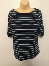 Ralph Lauren Womens size Large striped top - $9.99