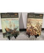 American Heritage Illustrated History of the United States Vol. 1 and 2 - $19.75