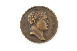 1808 France Bronze Medal AU Napoleon Entry Into Madrid High Relief BR#757 - $207.90