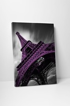 """Paris Eiffel Tower 3-11 Bn by Moises Levy Gallery Wrapped Canvas 20""""x30"""" - $52.42"""