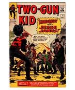 TWO-GUN KID #71 1964-MARVEL JACK KIRBY-SECRET IDENTITY REVEAL-vg - $37.83