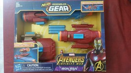 Marvel Avengers: Infinity War NERF IRON MAN Assembler Gear Toy Build & Blast - $22.22