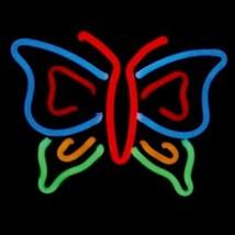 """Neon Butterfly Sculpture Wall Decor Sign  13"""" x 12"""" - $89.99"""