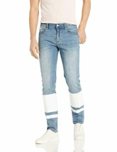NEW NWT A|X Armani Exchange Men's White Striped Blue Jeans Size 32 - $78.17