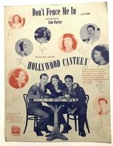 """Non Recinto Me IN """" Hollywood Canteen """" Cole Porter Foglio Musica 1944 - $6.94"""