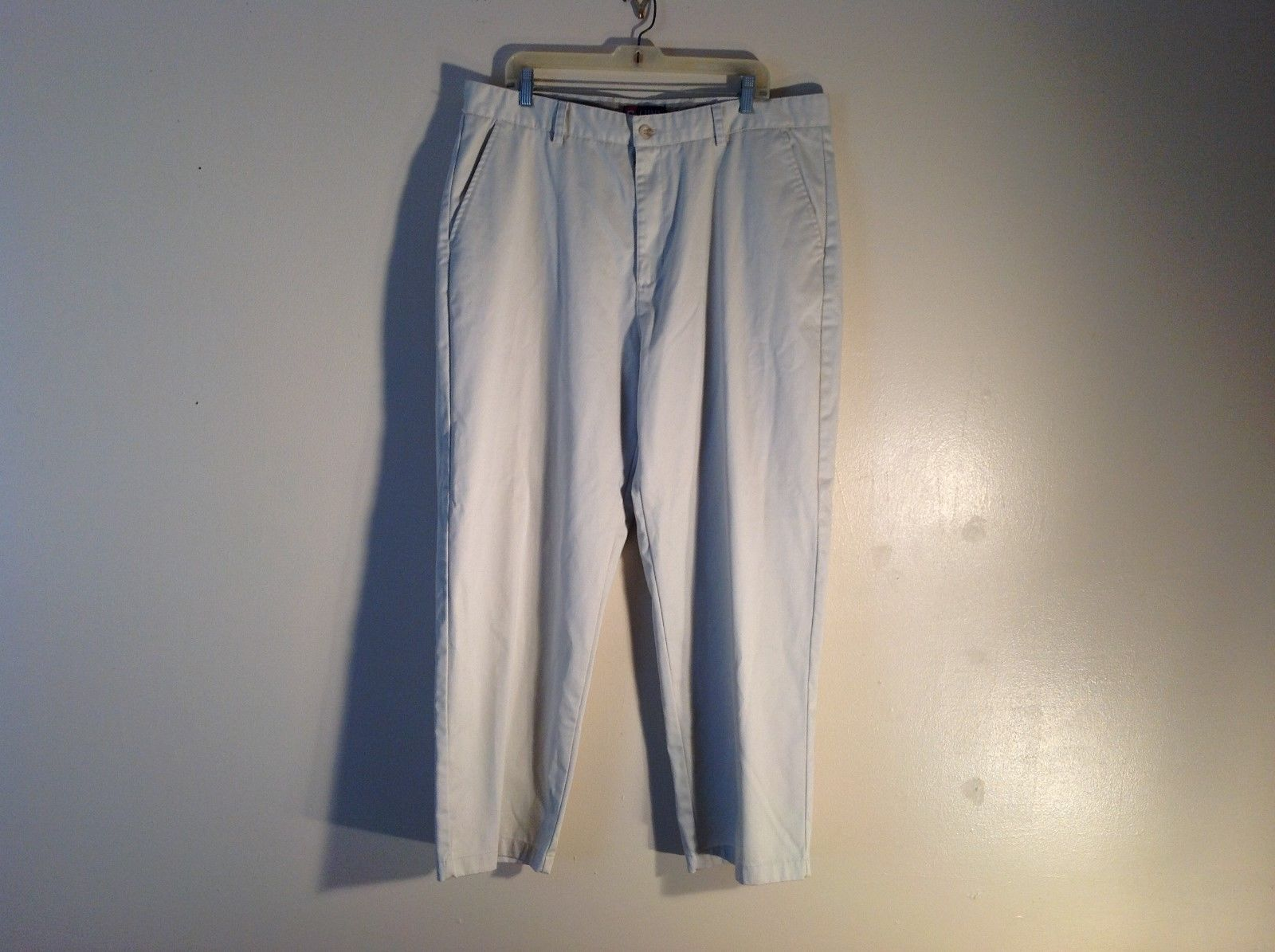 CHAPS Light Colored Khakis 100% Cotton