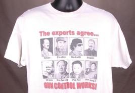 2nd Amendment T Shirt-White-XL-American Patriot Conservative-Anti Gun Co... - $32.71