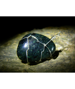 Rare GREAT ANGELIC BEINGS of POWER Galaxyite Sterling Pendant izida haunted - $122.22