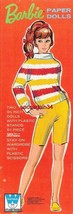 ORIGINAL BARBIE PAPER DOLLS~VINTAGE & UNCUT~196... - $35.00