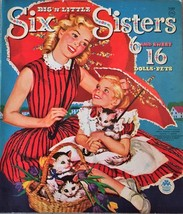 ORIGINAL SIX SISTERS SIX & SWEET SIXTEEN PAPER DOLLS~VINTAGE & UNCUT~196... - $59.99