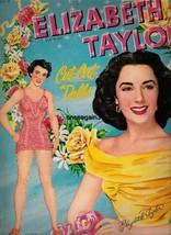ORIGINAL ELIZABETH TAYLOR PAPER DOLLS~VINTAGE &... - $79.99