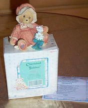 Cherished Teddies PRUDENCE Pilgrim Figurine Friend To Be Thankful For - $5.69