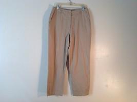 Women's L.L. Bean 100% Cotton Sand Colored Khakis Size 14Reg