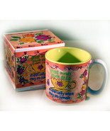 Ceramic Coffee Mug with Cute Saying - $6.95