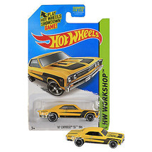 NEW 2014 Hot Wheels 1:64 Die Cast Car HW WORKSHOP Yellow '67 Chevelle SS... - €12,79 EUR