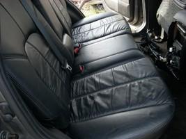 2004 MITSUBISHI ENDEAVOR BLACK LEATHER REAR BACK SEAT  image 2