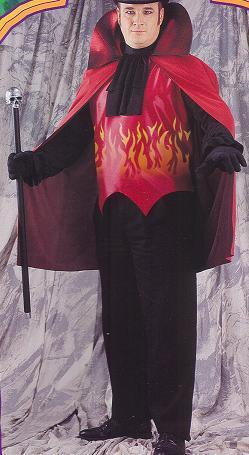 LORD OF EVIL COSTUME PLUS SIZE