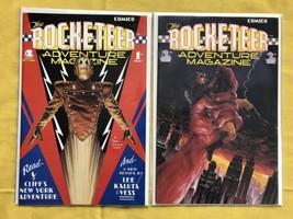 Lot of 2 Rocketeer Adventure Magazine (1988) #1 2 NM Near Mint - $13.86