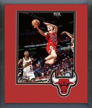 Steve Kerr Chicago Bulls 1996 NBA Finals Action- 11x14 Matted/Framed Photo - $43.55