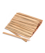 100 Small Wooden Sticks Wax Waxing Hair Removal... - $4.98