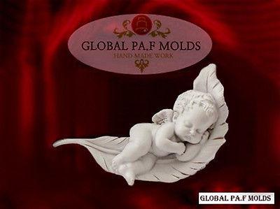 Handmade Silicone Mold / Cake Decoration Mould/leaf & Angel mold  - $37.00