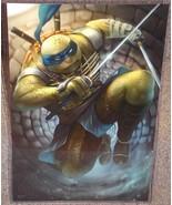 TMNT Leonardo Glossy Art Print 11 x 17 In Hard ... - $24.99