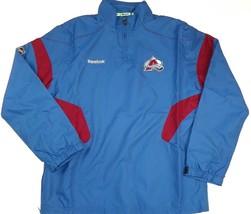 Colorado Avalanche Hot Jacket Men's NHL Center Ice 1/4 Zip Lightweight Hockey