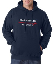 It's a beautiful day to save lives Greys Anatomy Unisex Hoodie S-3XL NAVY - $31.00+