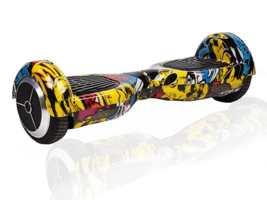 Hip Hop Graffiti Hoverboard Bluetooth Two Wheel Balance Scooter - $249.00