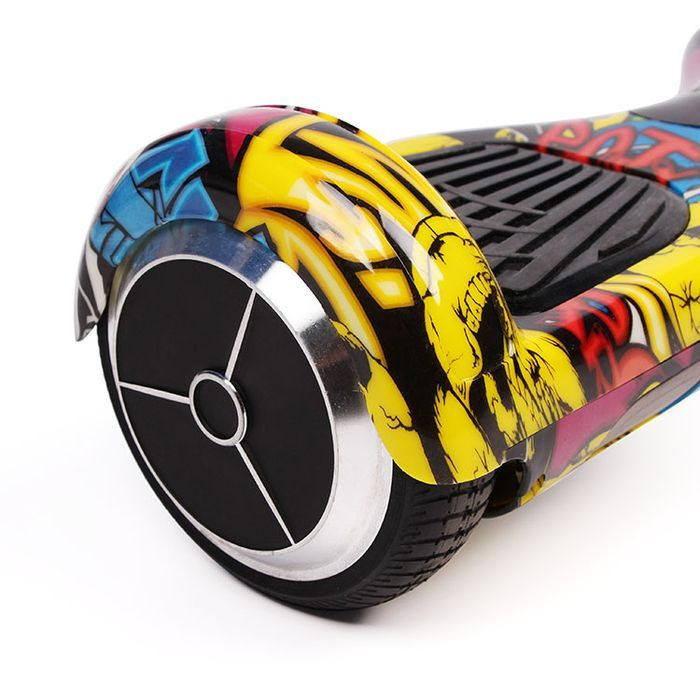 Hip Hop Graffiti Hoverboard Bluetooth Two Wheel Balance Scooter