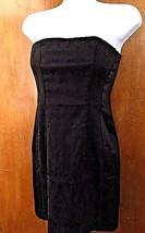 Women FOREVER 21 Strapless Little Black Mini Dress Sz Small 2 OR S Cockt... - $15.85
