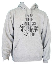 I am the God of Tits and Wine Tyrion Lannister quotes Got Unisex Hoodie H. GREY - $31.00+