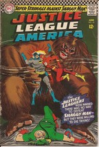 DC Justice League Of America #45 Shaggy Man Batman Flash Green Arrow Ato... - $9.95