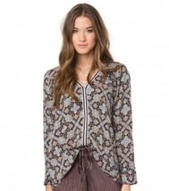 O'Neill EMBRY Womens V-Neck Long Sleeve Blouse ... - $49.50