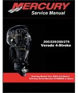 Mercury 200 225 250 275 Verado 4-Stroke Outboard Motors Service Manual o... - $12.00