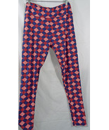 LuLaRoe Tall & Curvy T&C Diamonds Red White Blu... - $39.59