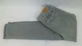 Abercrombie Stretch Pants Sz 8 Quilted Legs Light Grey - $15.83