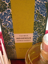 New Unopened Thymes Indigenous Verbena Bamboo Reed Diffuser   - $515,80 MXN